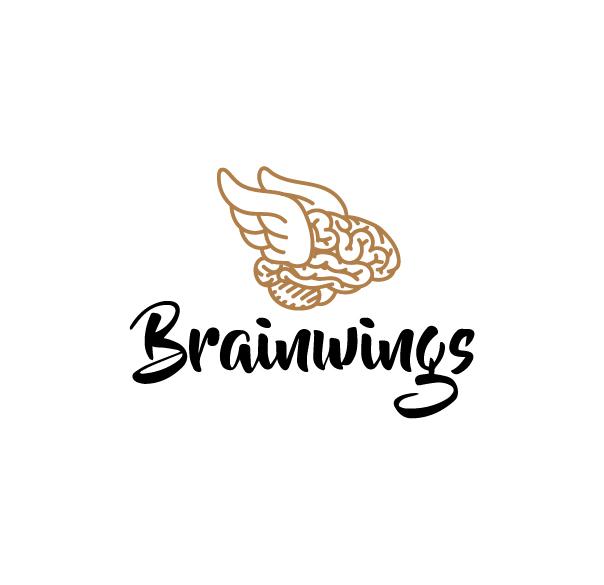 Brain Wings Logo