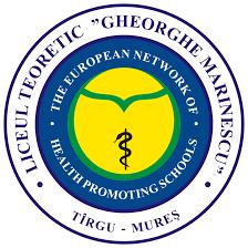 "Liceul Teoretic ""Gheorghe Marinescu"" din Târgu Mureş Logo"