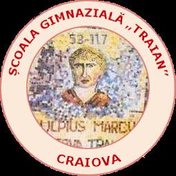 "Școala Gimnazială ""Traian"" Craiova Logo"