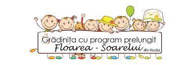 """Grădinița cu Program Prelungit """"Floarea-Soarelui"""" Reșița Logo"""