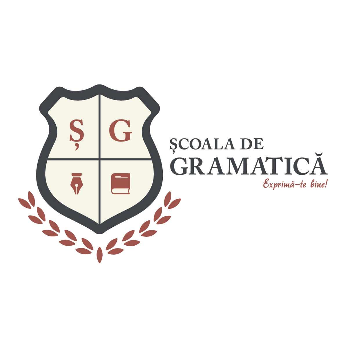 Școala de gramatică Logo